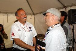 Bobby Rahal and Motorsport.com's Jack Durbin