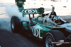 Paul Tracy burns out