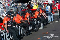 Visteon/Patrick Racing crew members
