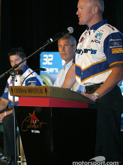 Team Player's press conference on Monday: Paul Tracy