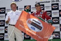 Pole winner Adrian Fernandez