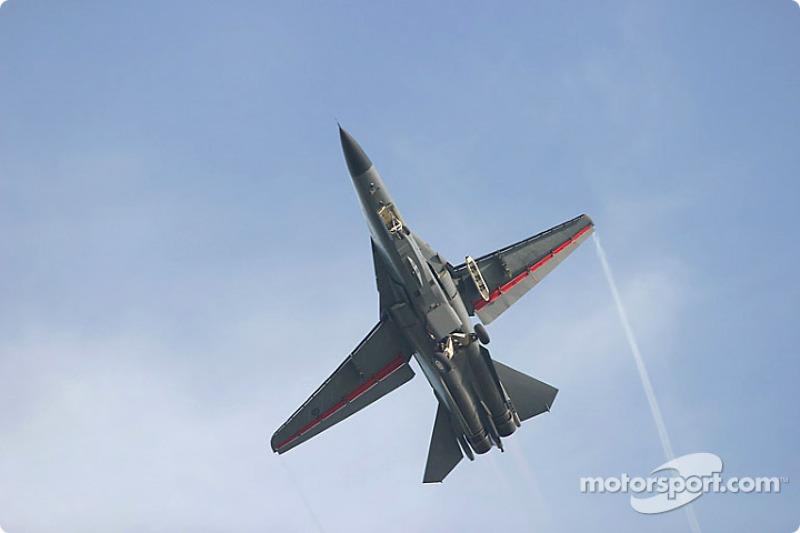 F1-11 flypast