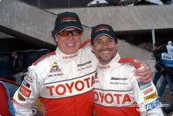 Chris McDonald and defending Celebrity winner Peter Reckell