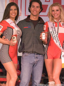 Bruno Junqueira and the first and third place finishers