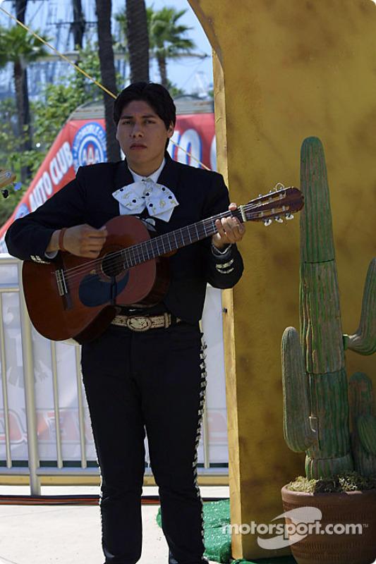 Concert en live d'un groupe de mariachis !