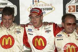 Sébastien Bourdais celebrates his victory