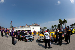 Technical inspection line