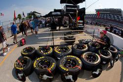Roush Fenway Racing Ford: préparation des roues