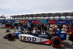 IndyCar two-seater experience: Logan Gomez