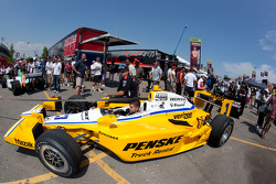 Car of Helio Castroneves, Team Penske