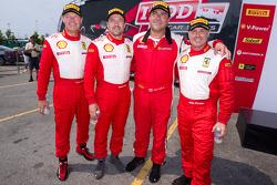 #89 Ferrari of Ontario Ferrari F430 Challenge: Ryan Ockey, #31 Ferrari of Ontario Ferrari F430 Challenge: Damon Ockey, #64 Algar Ferrari Ferrari F430 Challenge: Frank Fusillo, #59 Algar Ferrari Ferrari 458 Challenge: John Farano