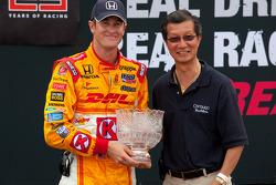Podium: third place Ryan Hunter-Reay, Andretti Autosport