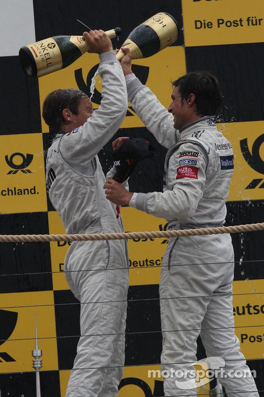 Renger van der Zande, Persson Motorsport, AMG Mercedes C-Klasse 2008; Bruno Spengler, HWA AG, Merced