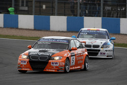Norbert Michelisz BMW 320 TC, Zengo-Dension Team and Javier Villa BMW 320 TC, Proteam Racing