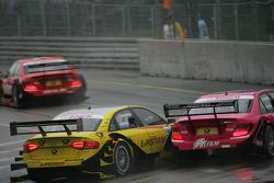 Susie Stoddart, Persson Motorsport, AMG Mercedes C-Klasse, Mike Rockenfeller, Audi Sport Team Abt Sportsline Audi A4 DTM