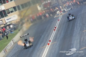 Tony Schumacher, U.S. Army Dragster, Antron Brown, Matco Tools Dragster