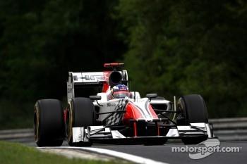 Daniel Ricciardo HRT Formula One Team