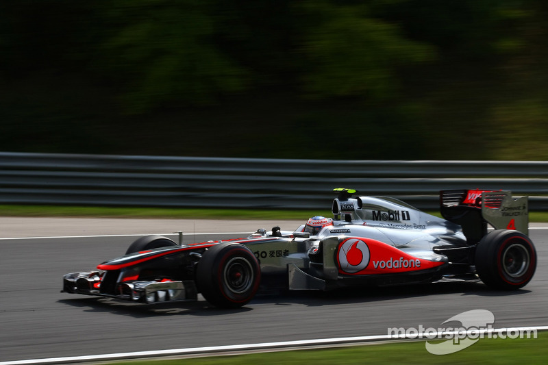 2011: Jenson Button, McLaren-Mercedes MP4-26
