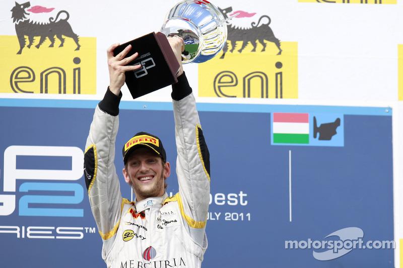 Romain Grosjean: 2410 dias - Última vitória: GP2, Budapeste 2011