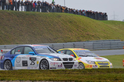 Mehdi Bennani BMW 320 TC, Proteam Racing y Darryl O'Young, Chevrolet Lacetti, bamboo-engineering
