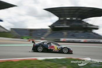 Mattias Ekstrom set the pace for Audi on Saturday morning