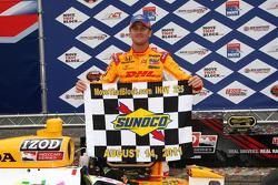 Podium: race winner Ryan Hunter-Reay, Andretti Autosport