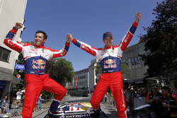 Winners Sébastien Ogier and Julien Ingrassia, Citroën DS3 WRC, Citroën Total World Rally Team