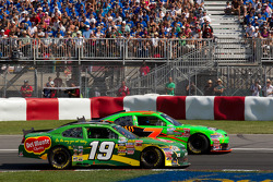 Mike Bliss, Smith Chevrolet, and Danica Patrick, JR Motorsport Chevrolet