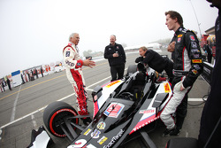 Mike Conway, Andretti Autosport with Don Prudhomme