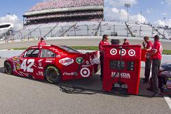 Car of Juan Pablo Montoya, Earnhardt Ganassi Racing Chevrolet