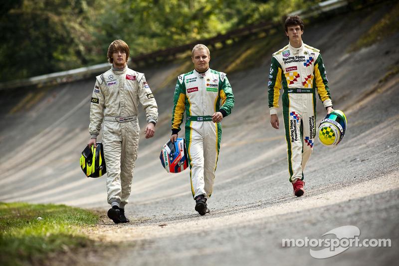 Le podium du GP3 Series 2011