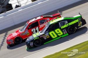 Kenny Wallace, #9 Robby Benton Racing Toyota