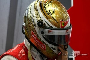 Second place and a new helmet design for Fernando Alonso