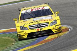 El #17 David Coulthard (Deutsche Post AMG Mercedes / Deutsche Post AMG Mercedes C-Klasse (2008))