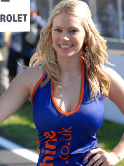 Techspeed Grid Girl