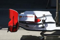 Scuderia Ferrari Technical detail front wing