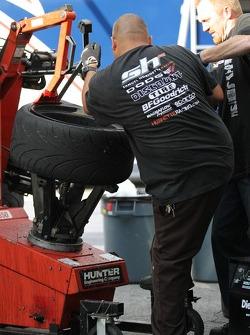 A Samuel Hubinette Racing / Dodge team member