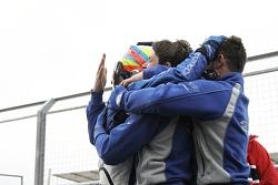 Carlos Huertas and his team celebrate