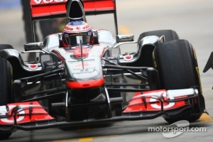 Second place in the championship is in Jenson Button's hands