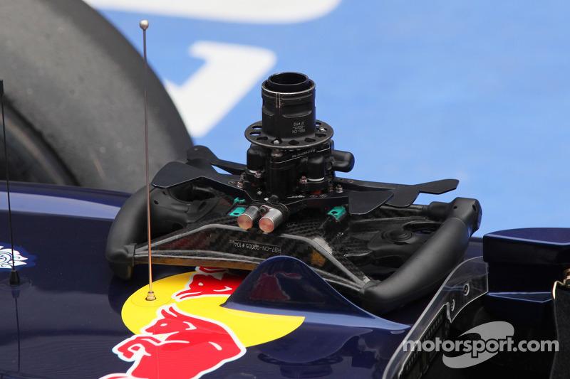 Sebastian Vettel, Red Bull Racing steering wheel