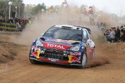 Себастьен Ожье и Жюльен Инграссиа Citroën DS3 WRC, Citroën Total World Rally Team