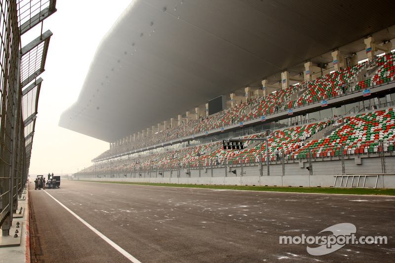 View from the pitlane