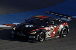 #23 JR Motorsports Nissan GT-R: Lucas Luhr, Michael Krumm