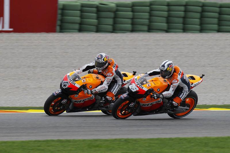 Dani Pedrosa, Andrea Dovizioso, Repsol Honda Team