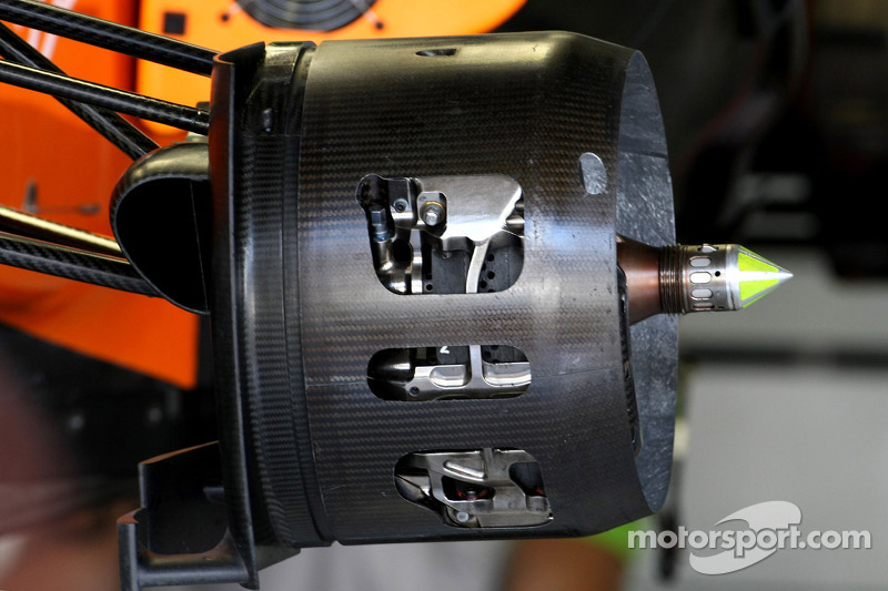 Force India Racing Team  Technical detail brake system