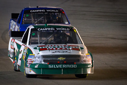 Kevin Harvick, Kevin Harvick Inc. Chevrolet leads James Buescher, Turner Motorsport Chevrolet back to the track