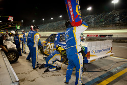 Pit stop for Parker Kligerman, Keselowski Racing Dodge