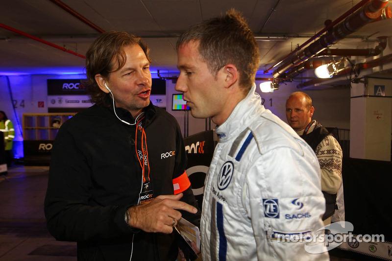 Sébastien Ogier and Fredrik Johnsson, ROC organiser