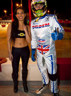 Jay Howard and a trophy girl