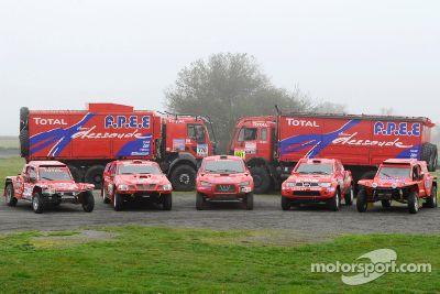 Team Dessoude Dakar Presentation